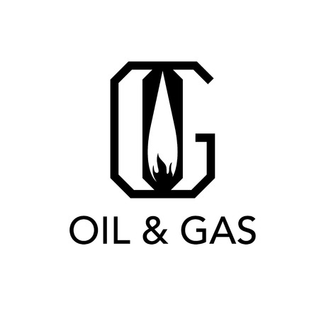liquid g: oil and gas monogram