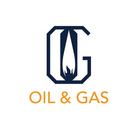 liquid g: oil and gas monogram