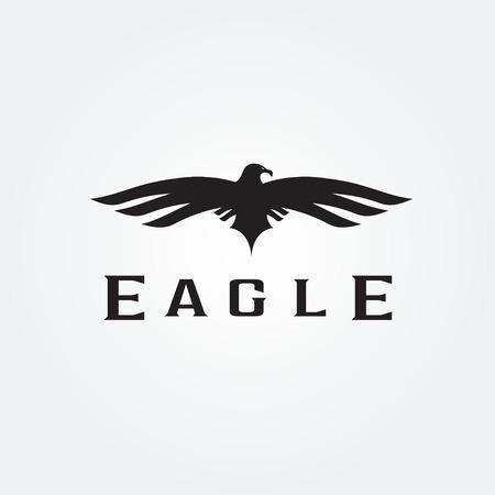 tending: Bird eagle abstract vector design template Illustration