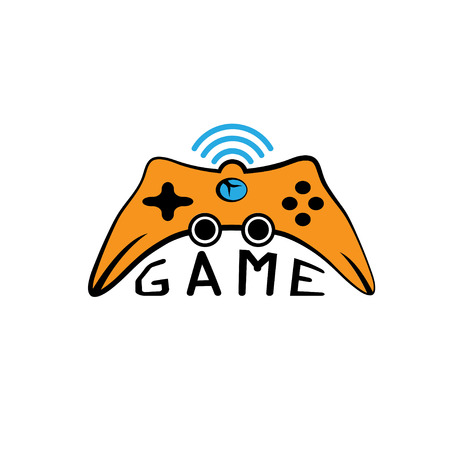 game pad: Illustration of Game pad Icon Vector Symbol