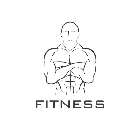 modelo: Fisiculturista Fitness Model Ilustra