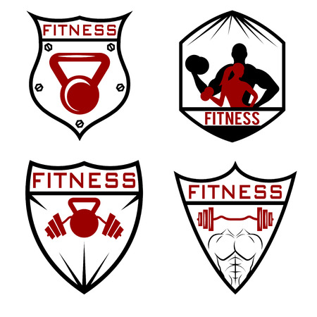 pectoral: set of fitness labels