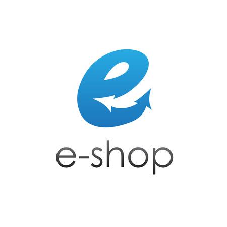 e shop: e shop vector design template