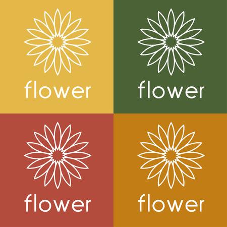 sunflower vector design template Reklamní fotografie - 38363586