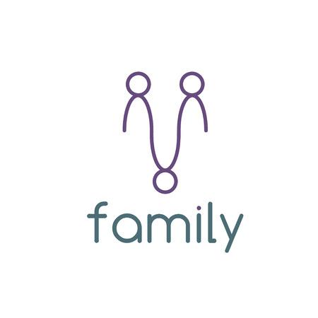 happy family: happy family design template