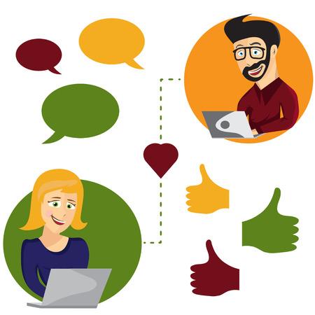 Στυλ σε απευθείας σύνδεση dating