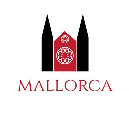 majorca: Illustration of icon of mallorca. Vector Illustration