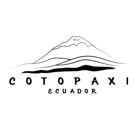 national parks: vector abstract illustration of volcano Cotopaxi in Ecuador Illustration