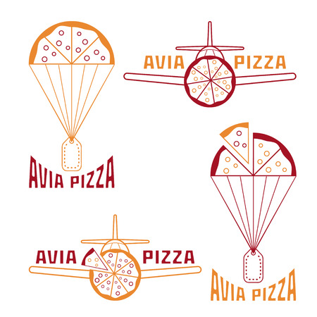 avia: avia pizza vector illustration concept