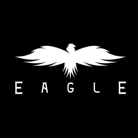 abstract design template of bird eagle