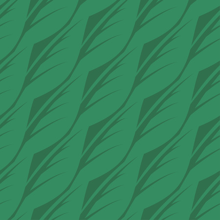 vegetate: Abstract seamless pattern of leaves. Vector illustration Illustration