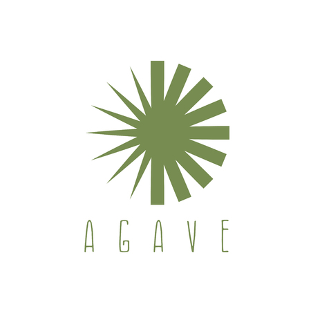 agave: vector design template of the agave plant Illustration