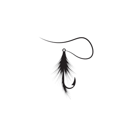 nylon: design template of fishing hook lure