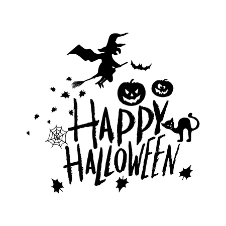 art card for happy halloweendesign template for flyers postersecards invitations