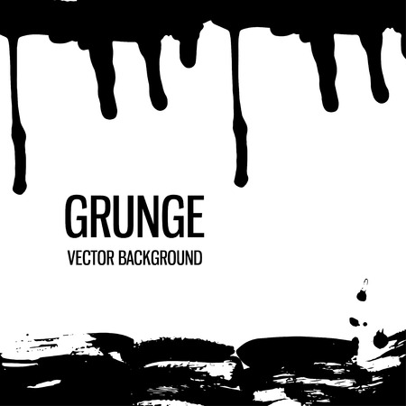 Abstract hand drawn grunge background texture.Vector illustration Stock Vector - 110117302