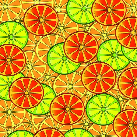 vector illustration background of tropical fruit