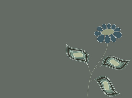 vector illustration of flower Illustration