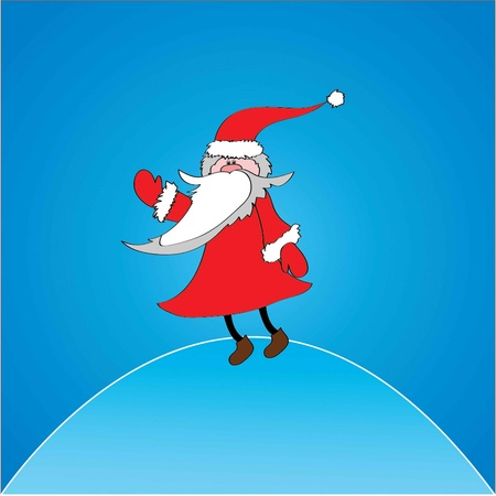 vector illustration of Santa Claus  Stock Vector - 13268968