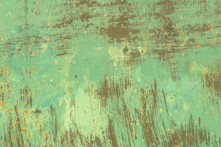 pitting: iron surface is covered with old paint, great background or texture for your project