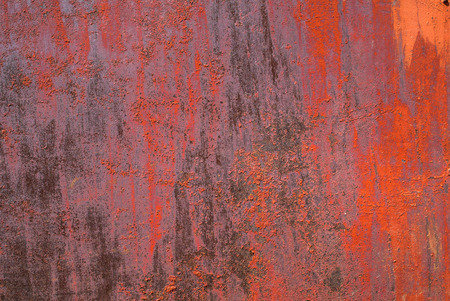 pitting: chipped paint on iron surface, great background or texture for your project