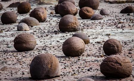 LUNA: Ischigualasto Nature reserve in the Valle de la Luna in Argentina