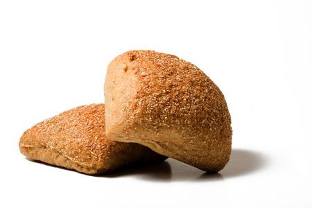 rye bread: Two rye bread Stock Photo