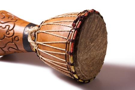 Afrikaanse trommel Stockfoto