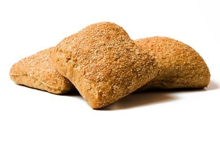 rye bread: three rye bread Stock Photo