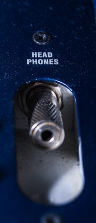 adapter: headphone Jack, closeup headphone adapter headphones, sound