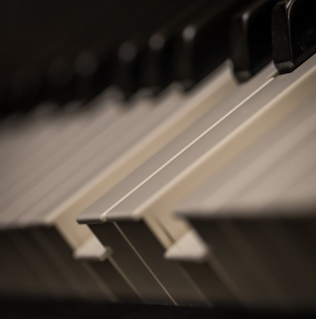 piano keys close-up, musical instrument, beautiful background