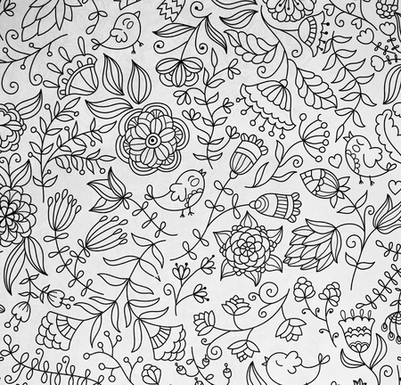 stress relief: abstraction coloring pages for adults,stress relief, top view closeup