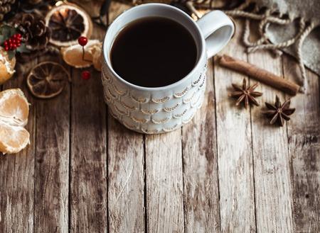 Christmas cozy Cup of tea
