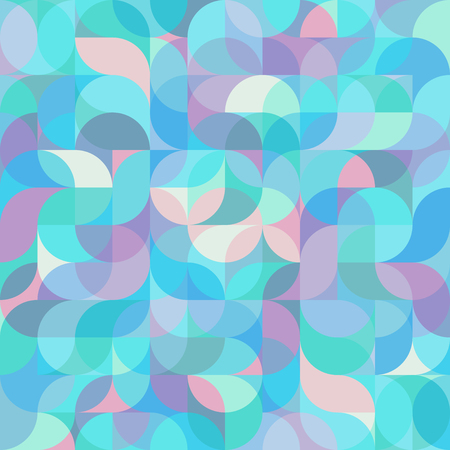 Abstract vector colorful geometric harmonic wave background in modern style for a flat pattern design booklet, folder, or for decoration and background.