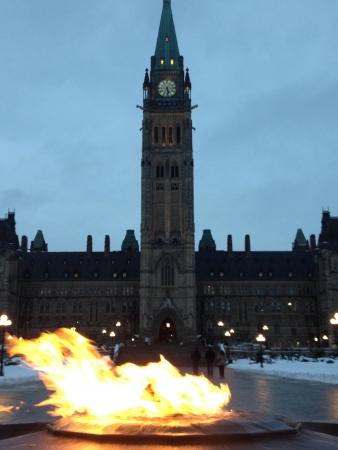 Ottawa parliament  Banco de Imagens
