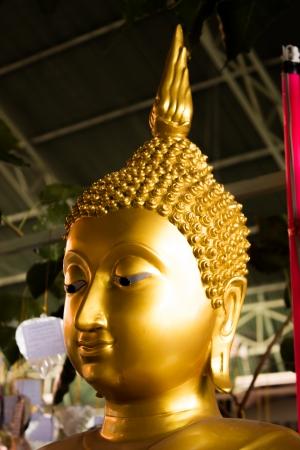 The buddha statue s head  photo
