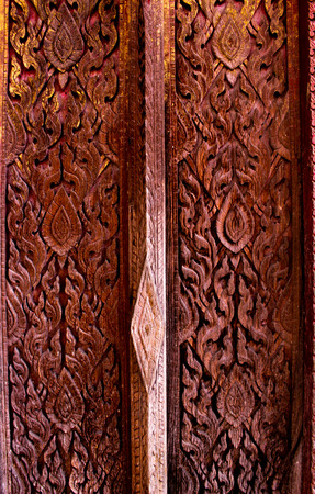 The carve wood door  photo
