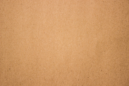 Vintage Brown Craft Paper Sheet Background Banco de Imagens