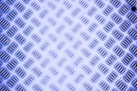 An Blue Aluminum Background and Texture