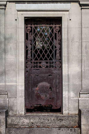 meta: Rusty Door Stock Photo