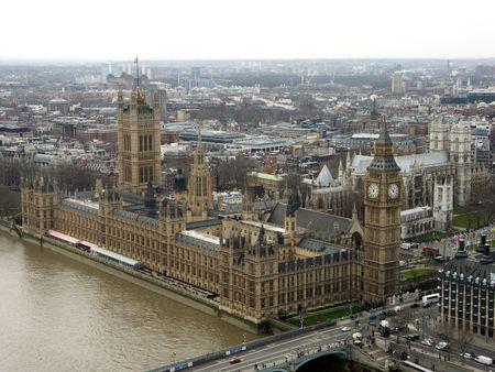 Big Ben  & Houses of Parliament Stok Fotoğraf - 241332