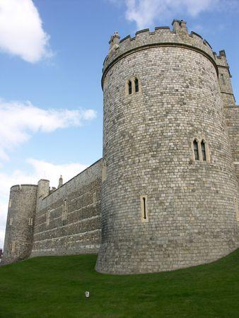 slits: Windsor castle Stock Photo
