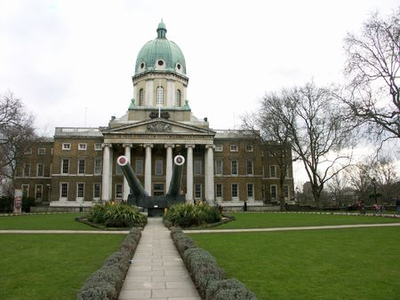 Imperial War Museum  in London Stock Photo