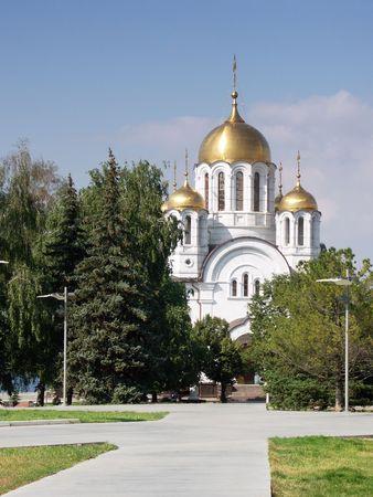 사마라, 러시아의 기독교 정교회 스톡 콘텐츠