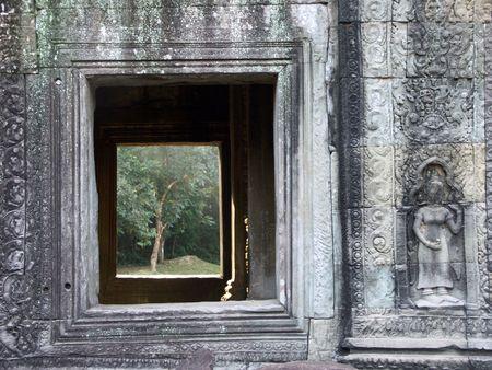 Preah Kahn Temple, Siem Reap, Cambodia