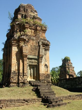 to reap: Preah Rup temple in Siem Reap, Cambodia