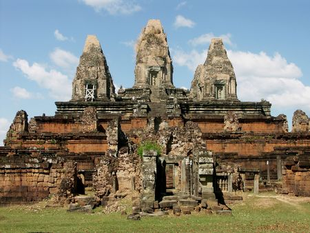 Preah Rup Temple, Siem Reap, Cambodia Stock Photo
