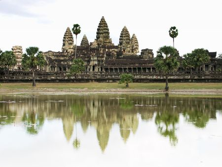to reap: Angkor Wat Temple - Siem Reap, Cambodia