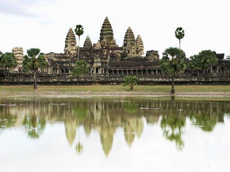 Angkor Wat Temple - Siem Reap, Cambodia Stok Fotoğraf - 245812