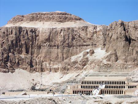 Hatshepsut Temple, Egypt 스톡 콘텐츠