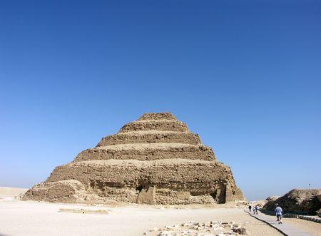 djoser: The Step Pyramid of Djoser at Saqqara, Egypt